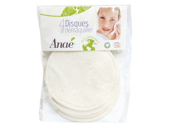 Wasbare make-up remover pads 4 st. - Anae