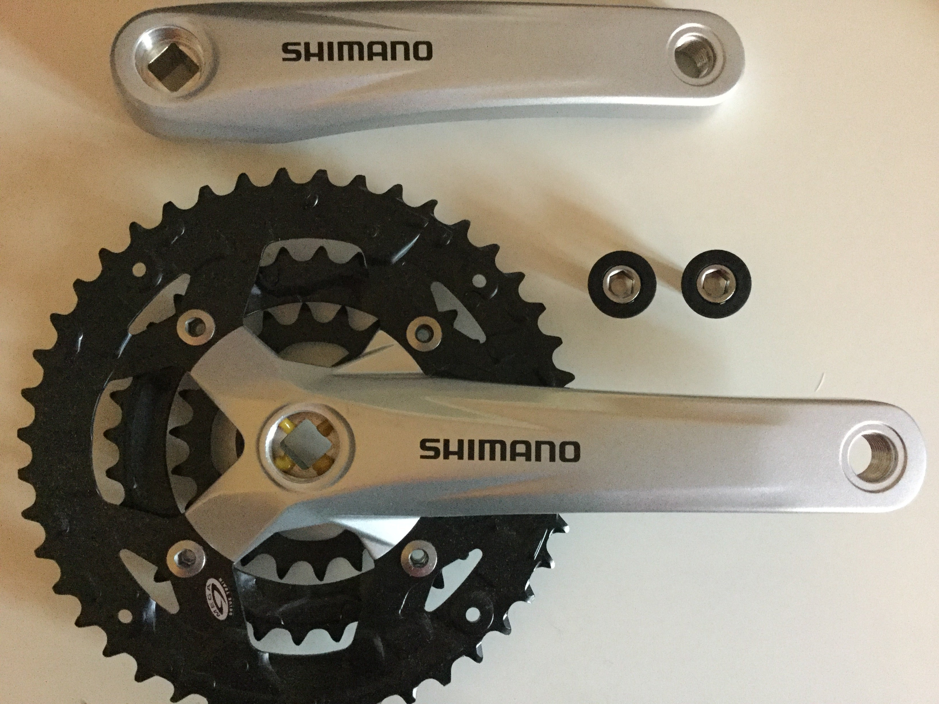 Shimano Acera FC-M391 9 Speed Chainsets MTB 42x32x22T 170MM Silver