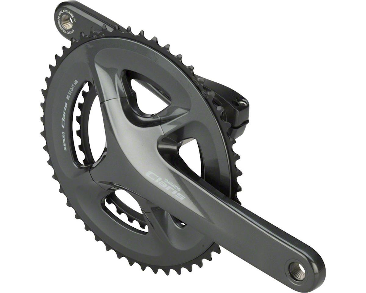 Shimano FC-R2000 Claris compact chainset, 8-speed - 50 / 34T 170mm