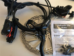 Shimano BR-M395 Disc Brake Set Front/Rear Black With Avid G3 160mm Rotors