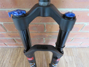 "26 inch Mountain Bike Air Suspension Front Fork 1"" 1/8 Black/Black"