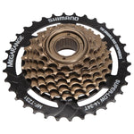 Shimano MF-TZ31 7 Speed Cassette Megarange Screw-On Freewheel 14-34T