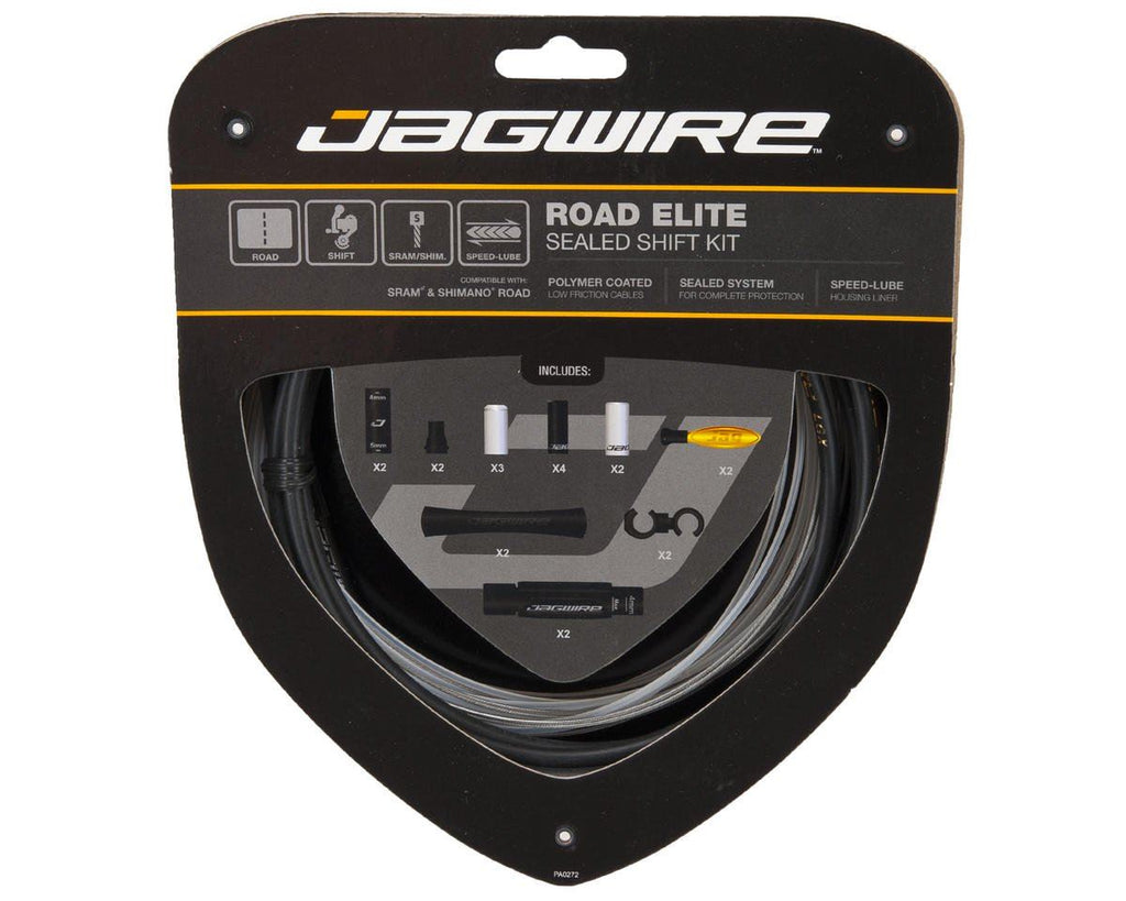 Jagwire Road Elite Sealed Shift Kit BLACK