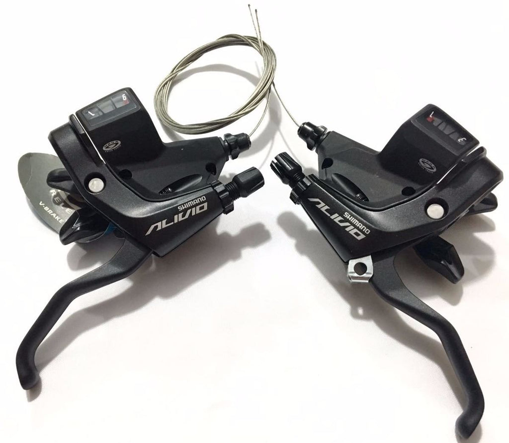 SHIMANO ALIVIO ST-M430 3×9 Speed Trigger Shifter  & Integrated Brake lever Set