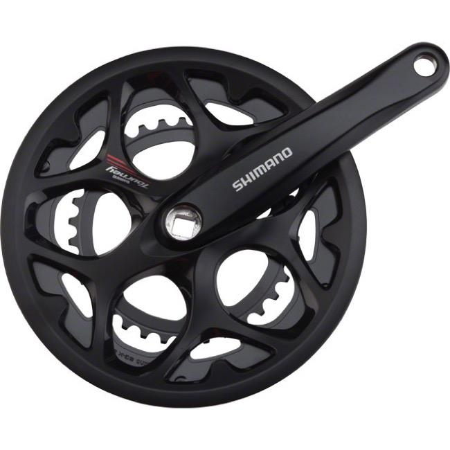 Shimano FC-A070 Square Taper 7/8-Speed Double Chainset 50-34 170mm