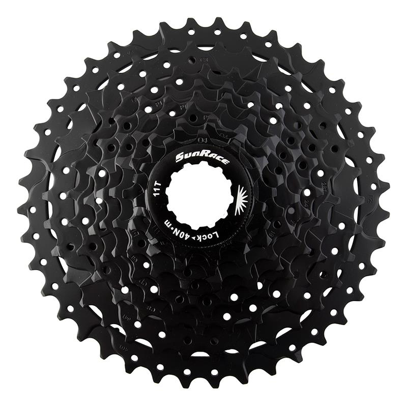 SunRace 9 Speed 11-40T MTB Mountain Bike Bicycle Cassette Sprocket Black