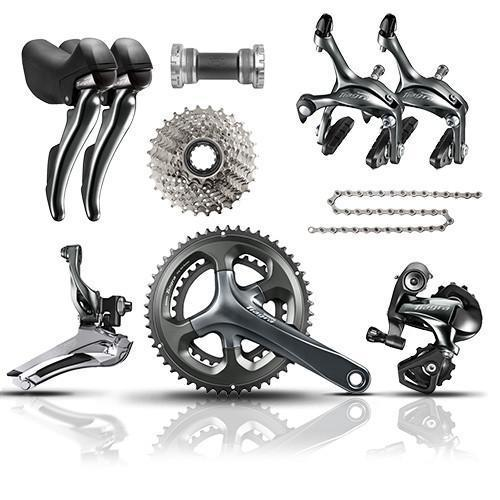Shimano Tiagra 4700 10 Speed Road Bike Climbing Groupset 50/34T (RRP £499)