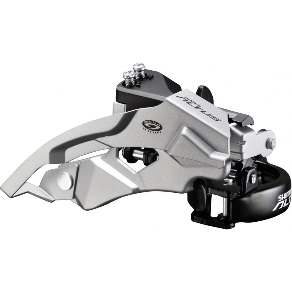 Shimano FD-M370 Altus 9-Speed Front Derailleur, Top Swing, Dual-Pull