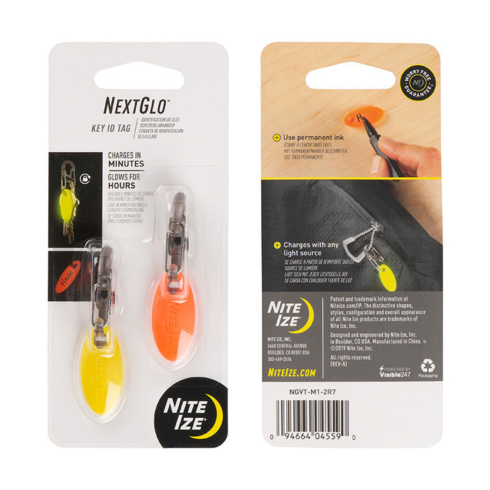 Packing image for NextGlo™ Key ID Tag - Assorted