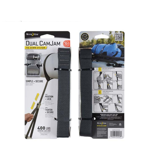 Dual CamJam® Tie Down System 12 FT