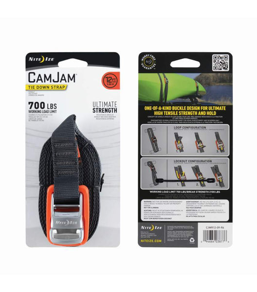 Packing image for CamJam® Tie Down Strap 12 FT