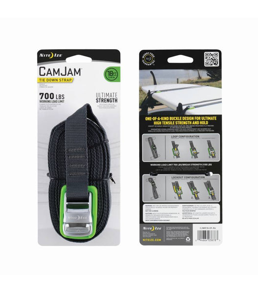 Packing image for CamJam® Tie Down Strap 18 FT