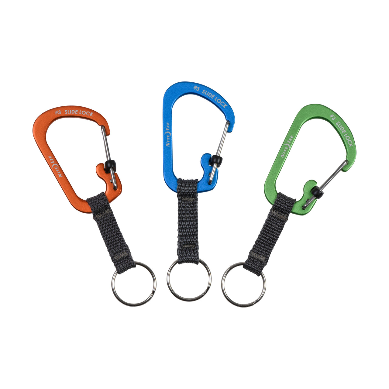 SlideLock® Key Ring Aluminum