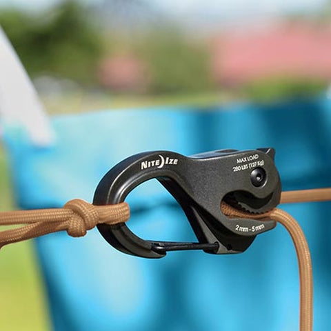 CamJam® XT™ Aluminum Cord Tightener with Rope