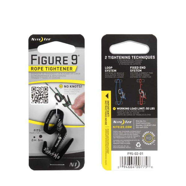 Packing image for Figure 9® Carabiner Rope Tightener - Small