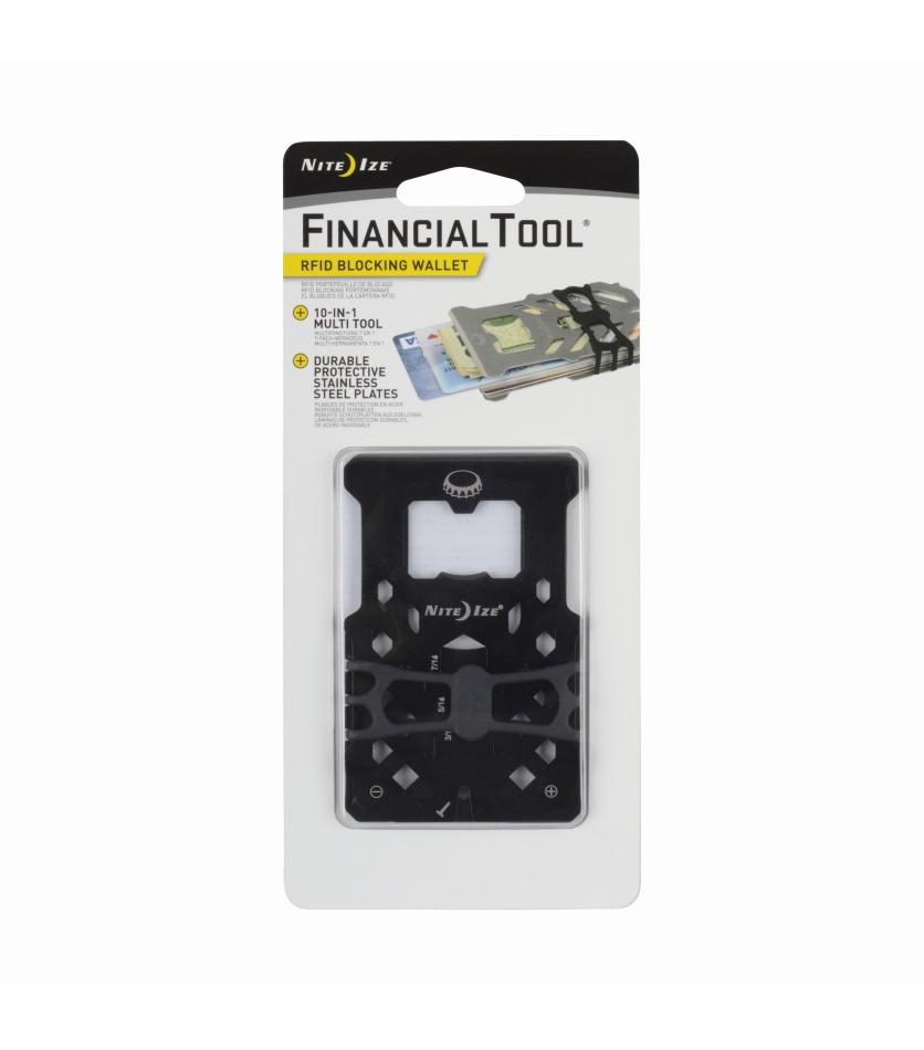 Financial Tool® RFID Blocking Wallet