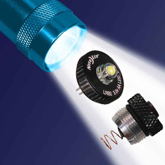 LED Upgrade Combo II - Fits AA Mini Maglite
