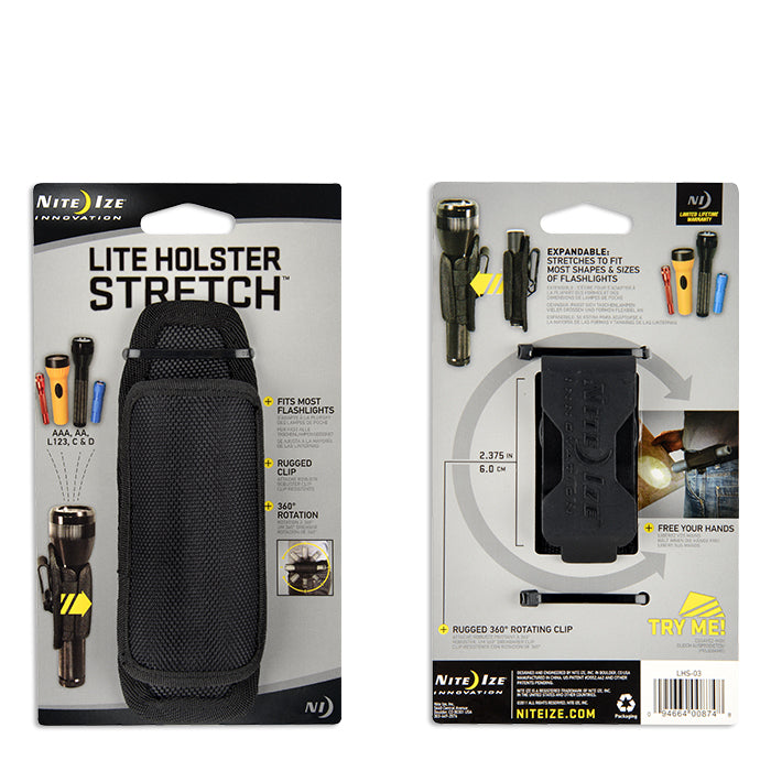 Lite Holster Stretch™ Flashlight Holster