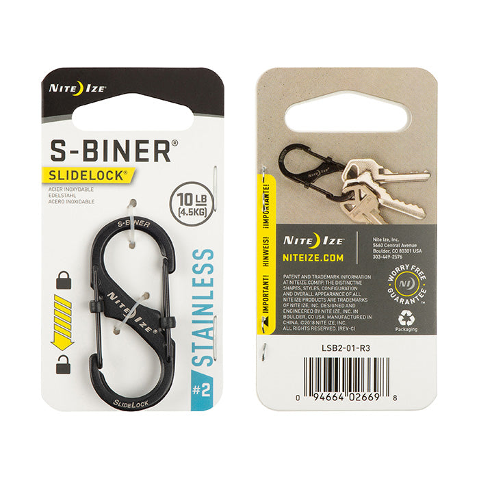S-Biner® SlideLock® Stainless Steel #2