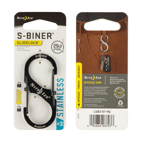 S-Biner® SlideLock® Stainless Steel #3