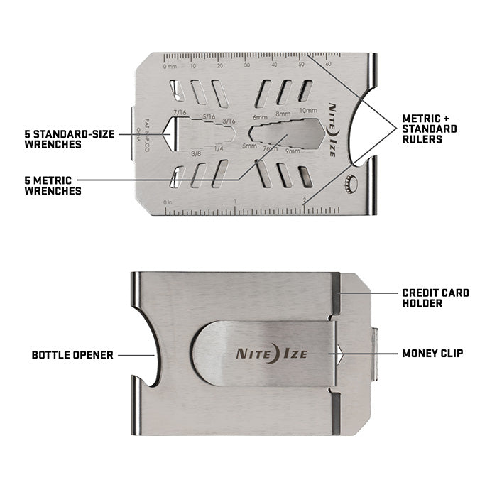 Financial Tool® Multi Tool Money Clip