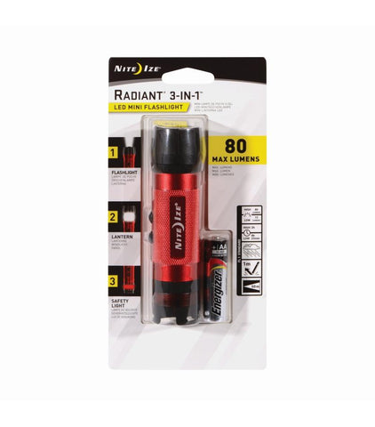 Radiant® 3-in-1™  LED Mini Flashlight - neiteizeify