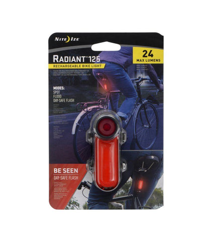 Radiant® 125 Rechargeable Bike Light - neiteizeify
