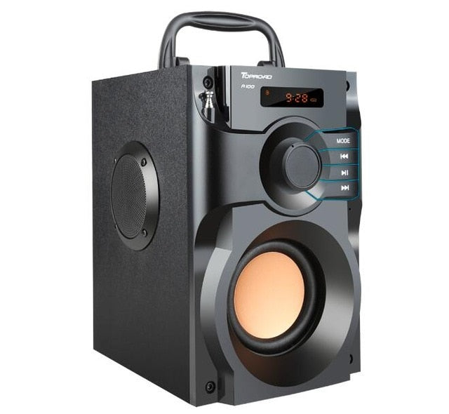 Super Bass Wireless Boombox