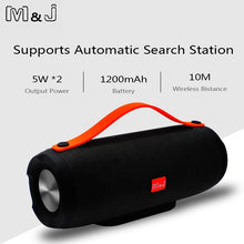 Load image into Gallery viewer, Portable Bluetooth Subwoofer Speaker
