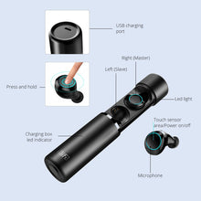 Load image into Gallery viewer, Capsule Bluetooth Headset