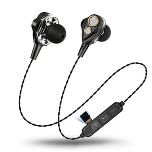Surround Sound  Bluetooth Earphones With TF Card
