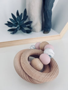 Rattle Teething Ring