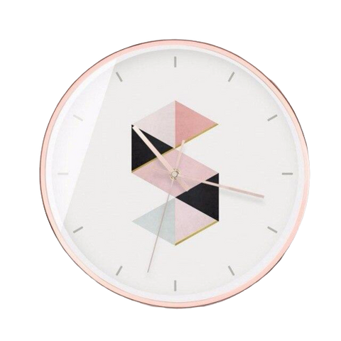 Horloge Murale Design Rose S ou Etages ?