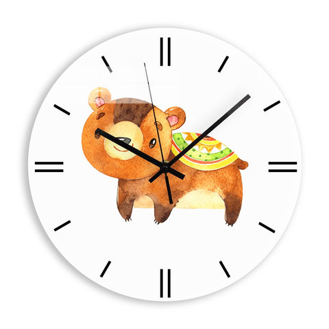 Horloge Enfant Animal <br> Ourson - Mon Horloge