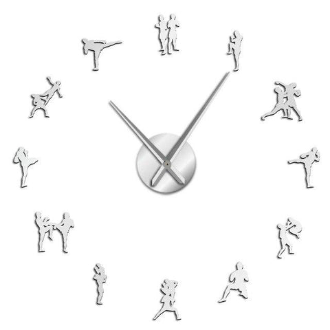 Horloge Stickers Muraux Box Thai
