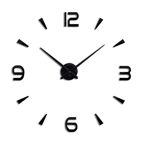 Horloge Stickers <br> Simple Moderne - Mon Horloge