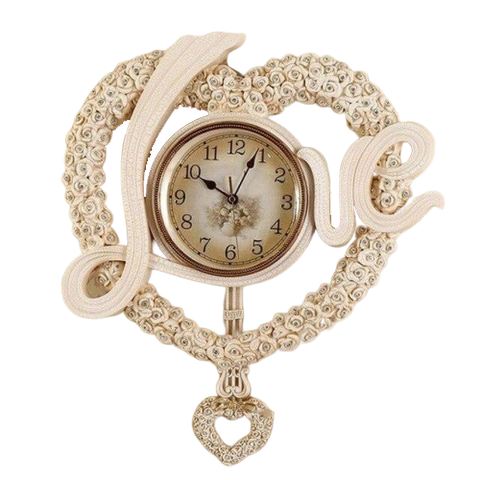 Horloge Vintage Design Love Or Rose