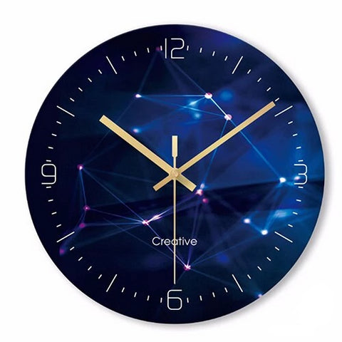 Horloge Murale Design Constellation Galaxy