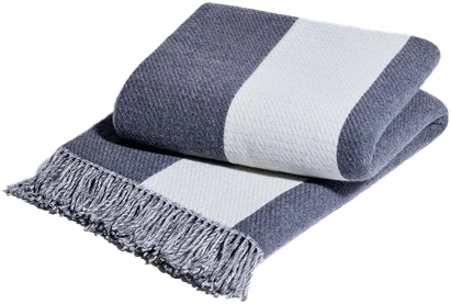 Striped Throw