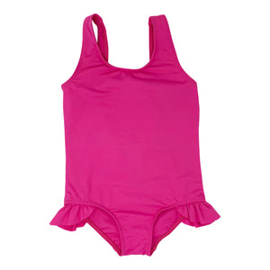 Ashlyn girls one piece in Fuchsia