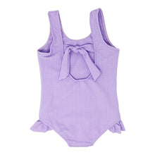Load image into Gallery viewer, Ashlyn girls one piece in Lavender Texture