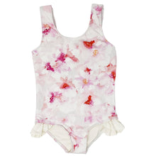 Load image into Gallery viewer, Ashlyn girls one piece in Pink Floral