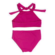 Load image into Gallery viewer, Caya girls bikini in Fuchsia