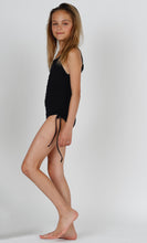 Load image into Gallery viewer, Kirra girls one piece in Black