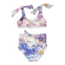 Load image into Gallery viewer, Mila girls bikini in Aquarelle