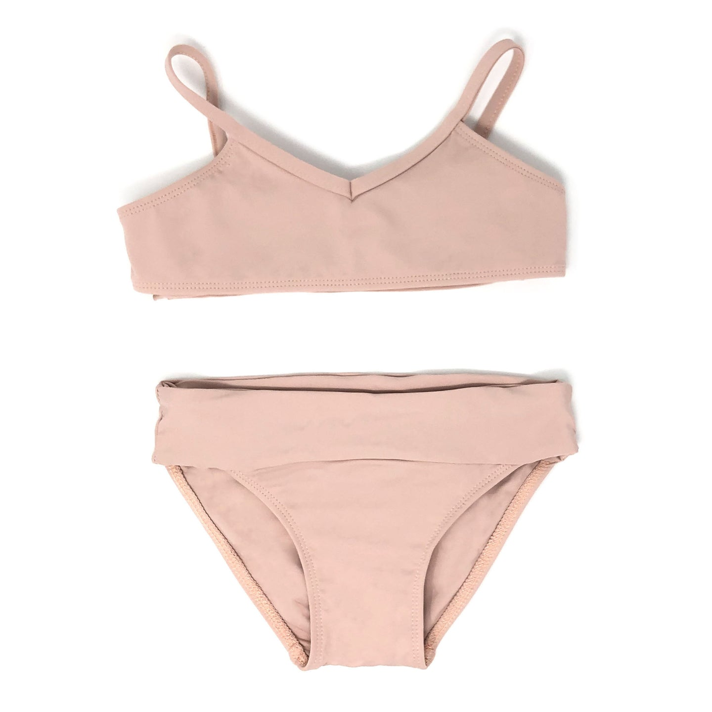 Presley girls bikini in Rose