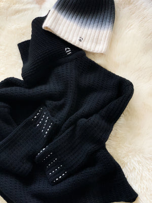 SPECIAL DEAL SETS x Black Star knit x Black Night Beanie