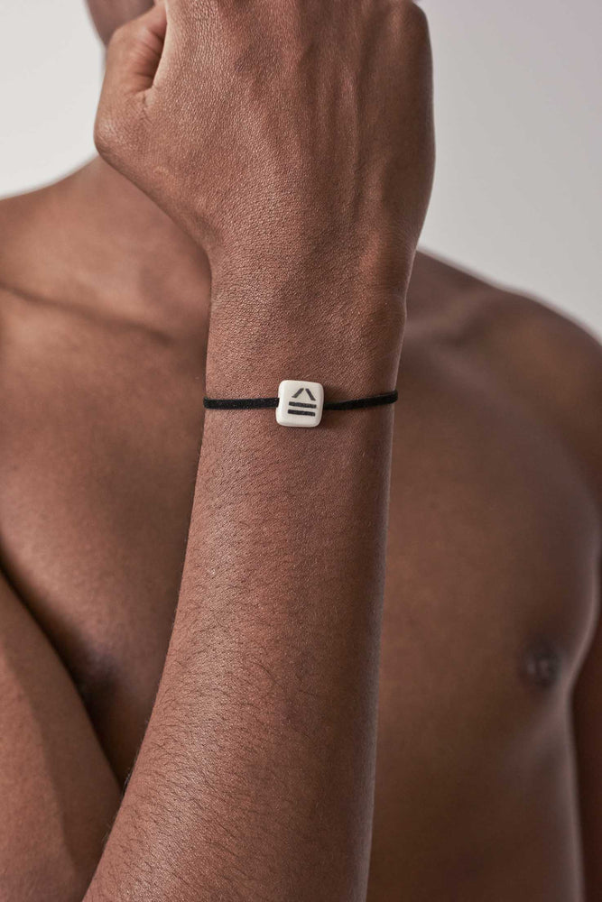 Load image into Gallery viewer, Black Logo 1 Bracelet