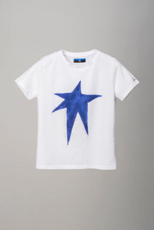 Heat White Blue Star