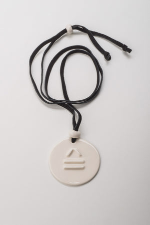 Load image into Gallery viewer, Logo Embossed Circular Pendant